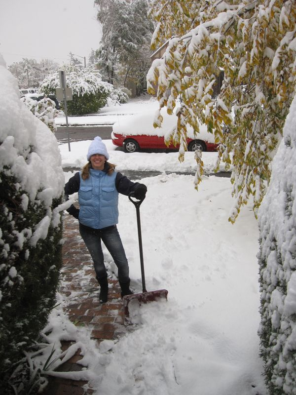 Shovellin' Snow