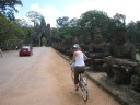Biking Around the Temples
